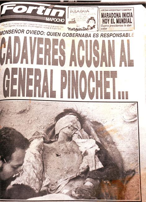 CadáveresAcusanalGeneralPinochet